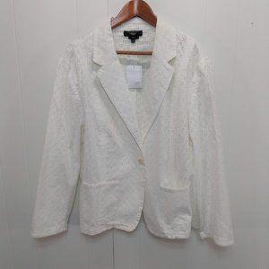 Talbots Womens Plus 22W NWOT White Eyelet Cotton